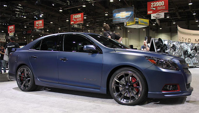 New Smyrna Chevrolet >> 2016 Malibu inherits Corvette styling